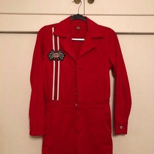 Red Dickies Jumpsuit
